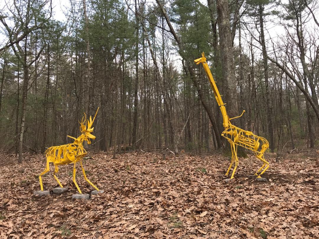 Deer&Giraffe